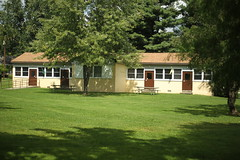 Girls Village cabin