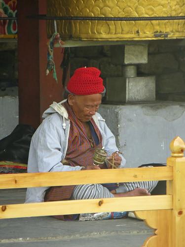 06 02 Bhutan - Thimpu - Memorial Chorten 020