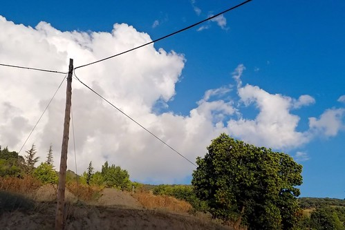 Power Pole in the Hills (2)