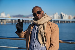Dapper Man in Seoul Part 16 (Dapper Man) Tags: dapper dapperman gentleman gq seoul korea southkorea iseoulu metropolitan city streetstyle fashion winterfashion model koreafashion trenchcoat scarf cardigan turtleneck sweater trousers pants plaid loafers horsebitloafers horsebit gucciloafers shades hm seoullife bald baldgang baldhead