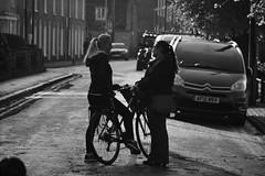On the Streets with my Bike (Bury Gardener) Tags: cambridgeshire cambridge streetphotography street streetcandids snaps candid candids people peoplewatching folks strangers britain bw blackandwhite monochrome mono