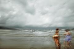 fluidity... (Jordan_K) Tags: sea beach people longexposure sky surreal scenic scenery cinematic