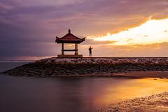 Bali Sunrise (...Iwonttell) Tags: bali indonesia sunsire dawn colourful colours landscape longexposure travel explore wanderlust sanur asia