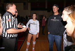 IMG_2328 (SJH Foto) Tags: girls high school volleyball emmaus garnet valley state pool play championships canon 1018 f4556 stm superwide lens pregame ceremonies ref referee captains coin toss