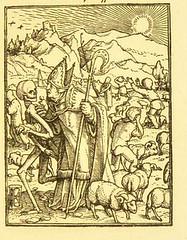 This image is taken from Page 31 of Der Todtentanz von H. Holbein, nach dem Exemplare der ersten Ausgabe im Kgl. Kupferstich-Cabinet zu Berlin in Lichtdruck nachgebildet (Medical Heritage Library, Inc.) Tags: dance death rcplondon ukmhl medicalheritagelibrary europeanlibraries date1879 idb22651263