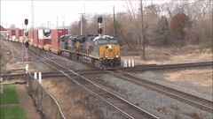 CSX freight train (17 November 2018) (Marion, Ohio, USA) 1 (James St. John) Tags: marion ohio csx freight train trains