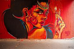 Graff by Emesa ! (Steph Land) Tags: emesa graff graffs graffiti spray sprayart artiste art artderue street streetart zeiss zeisslens carlzeisslenses carlzeiss peinture peintre caps aerosol