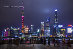 Shanghai Nightscape (PhotoDG) Tags: cityscape nightscape city building skyscraper neon light color night smog river huanpu pudong shanghai china people skyline 外滩 夜景 上海 陆家嘴 黄浦江 浦东 新区 thebund bund orientalpearl tower shanghaitower 上海中心大厦 shanghaiworldfinancialcenter jinmaotower 金茂大厦 东方明珠塔 上海环球金融中心