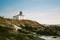 Lighthouse in RI (hyekab25) Tags: film pentaxk1000 pentax 35mm 35mmcolourfilm 35mmcolorfilm