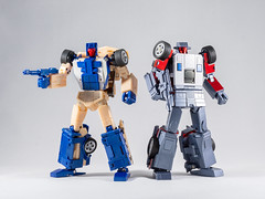 DSC00199 (KayOne73) Tags: sony a7riii nikon 40mm f 28 micro macro transformers toys figures 3rd party robot action masterpiece mp x transbots flipout wildrider stuntacon