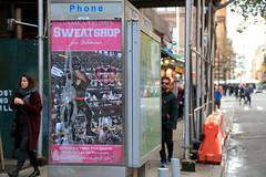 ivamka trumps sweatshop for women (Luna Park) Tags: ny nyc newyork manhattan adtakeover streetart apresidentialparody abelincolnjr maialorian lunapark