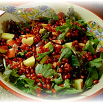 bowled fruit & vegetable salad thumbnail