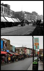 Camden High Street (Tetramesh) Tags: tetramesh london england britain greatbritain gb unitedkingdom uk localhistory nowandthen thenandnow pastandpresent oldlondon lostlondon presentandpast londonpastandpresent londonnowandthen londonthenandnow londonpast socialhistory uklocalhistory londonlocalhistory camdenhighstreet nw1 camden