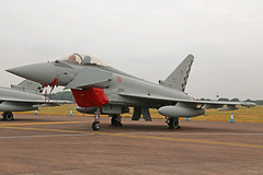 MM7345 (37-45) Eurofighter EF2000 Typhoon Italian Air Force RIAT RAF Fairford 13th July 2018 (michael_hibbins) Tags: mm7345 3745 eurofighter ef2000 typhoon italian air force riat raf fairford 13th july 2018 italy europe european aeroplane aircraft aviation aerospace airplane aero airshow airfields military defence strategic tactical multiengined multirole jet jets afterburner afterburners fighter bomber