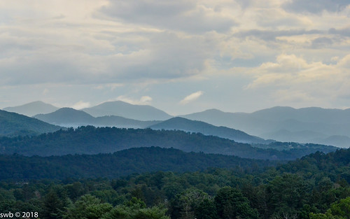 Mountains over Asheville