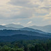Mountains over Asheville
