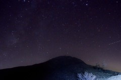 Milkyway  and hills (neil.dalphin) Tags: yellow star milkyway galaxy night core dark long exposure desert anza borrego california