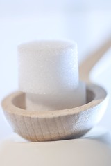 Intended Contact (haberlea) Tags: home macromondays sugar spoon sweet wooden wood intendedcontact macro