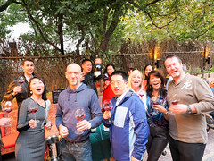 Party time! (The Wine Cat) Tags: winelovers winetasting social funtime terrace people expatlives shanghai modernchina portraits party lacrema summergate