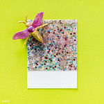 Glittery and sparkly paper card thumbnail