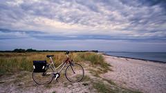 Mit dem Fahrrad unterwegs.jpg (Knipser31405) Tags: 2018 fahrrad angeln ostsee sommer schleswigholstein