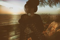 """""""At the end of hardship comes happiness."""" (Roy Mildor / RM ~ Art Of Poses ~ CEO) Tags: roymildor devin´seye photographer sl secondlife sim fotograf profile woman nature landscape desert wüste beach hangout chill"""
