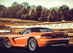 Oldschool Racer, re: (polyneutron) Tags: car photography forza motorsport dodge viper red photoshop xbox360 photomode