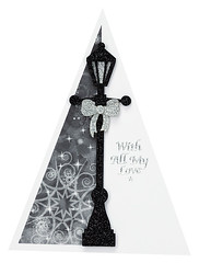 Craft Creations - Charlotte479 (Craft Creations Ltd) Tags: lamp lamppost christmas greetingcard craftcreations handmade cardmaking cards craft papercraft