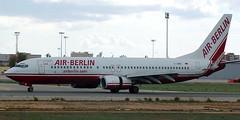 Boeing 737-86J D-ABBI (707-348C) Tags: palmaairport palma lepa boeing airliner jetliner airberlin berlin ber pmi passenger spain 2006 b738 boeing737 dabbi