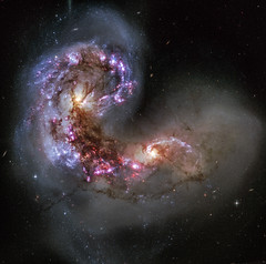 Antennae Galaxies - NGC 4038/NGC 4039 (Kevin M. Gill) Tags: hubble antennaegalaxies ngc4038 ngc4039 galaxy astronomy space science