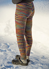Woolly pants (Winterbound) Tags: knitting handmade handknitted woollypants winter