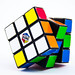 Closeup of a  Rubik's Cube