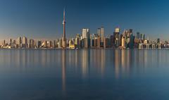 Toronto skyline (reinaroundtheglobe) Tags: toronto urbanskyline skyline city cityscape water waterfront reflections waterreflections skyscrapers offices buildings cntower urbanlandscape