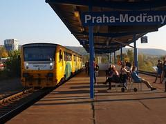 Prague Modrany - 10-10-2018 (agcthoms) Tags: czechrepublic prague praha prahamodrany station railway trains cd ceskedrahy czechrailways