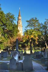 DSC_7644 (scsmitty) Tags: historic architecture charlestonsc southcarolina cemetery stphilipschurch church steeple nationalhistoriclandmark nationalregisterofhistoricplaces