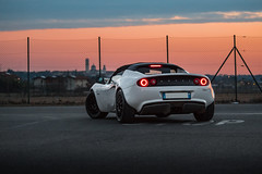 When the sun goes down... (db70gt3) Tags: lotus white whitenoise lightness lightweight lessismore becauseracecar lotuscar mylotus lotuselise lotuselisecr lotuseliseclubracer clubracer elisecr cr eliseclubracer elises3 lotuselises3 komotec rotrex supercharged modified sportscar automotive tracktoy trackweapon english car fun sunset sunsetsky sunsetcolor italy