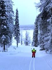 Cross-country skiing near Äkäslompolo (Philip_Brigham) Tags: äkäslompolo ski