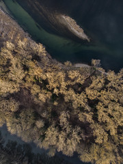 L'ardèche à Pont-Saint-Esprit (berengere-vuche) Tags: gard rhone drone mavicair aerialphoto ardeche goldenhour