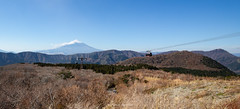 Vue sur le mont Fuji depuis le site d'Ōwakudani (Japon) (Rossell' Art) Tags: fuji fujiyama japon kawaguchiko montfuji