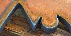 Steel cut Profile (jens-kristiansoendergaard) Tags: hanstholm harbour metal rust cut
