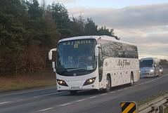 M&J Travel - YN62GXG (West Mids Bus Pics) Tags: plaxton panther b9r mj ludlow