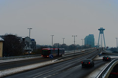 Bridge over Danube (Maximus Viridius) Tags: sony a7 bratislava mirrorless 2870mm travel europe full frame slovakia street