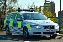 PO11 EXG (S11 AUN) Tags: merseyside police volvo v70 d5 anpr traffic car roads policing unit rpu motor patrols 4x4 nwmpg northwestmotorwaypolicegroup 999 emergency vehicle po11exg