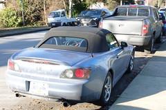 2002 Honda S2000 (D70) Tags: burnaby britishcolumbia canada 2002 honda s2000