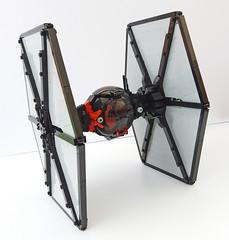 Rear (Rubblemaker) Tags: star wars starwars lego building blocks first order tie fighter
