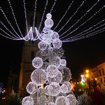 Christmas lights in Bergerac thumbnail