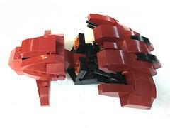 Red Revenant Right (dreki.bryni) Tags: halo moc afol lego