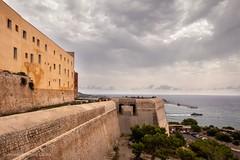 """Perspective"". (alfonsoscg) Tags: fujifilm ibiza españa xt20 xc1650mmf3556 ois ii ƒ80 160 mm 1250 400 agua water sea mar cielo sky azul blue arquitectura mediterraneo puerto port rompeolas nubes"