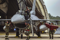 180913-F-ON660-165 (Official U.S. Air Force) Tags: spangdahlem saber f16 fightingfalcon crewchief 480thfs 52ndfw spangdahlemairbase badenwurttemberg germany de