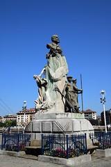 Monumento (Portugalete, País Vasco, España, 27-9-2018) (Juanje Orío) Tags: 2018 portugalete vizcaya provinciadevizcaya paísvasco euskadi españa espagne espanha espanya spain europa europe europeanunion unióneuropea monumento escultura sculpture